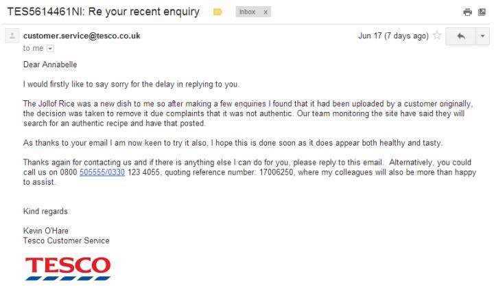 tesco email 2