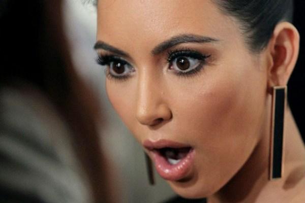Kim-Kardashian open mouth