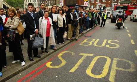 bus driver strike london