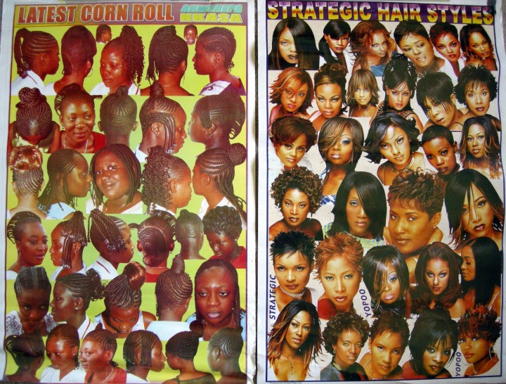 black hairstyle poster african hair shop