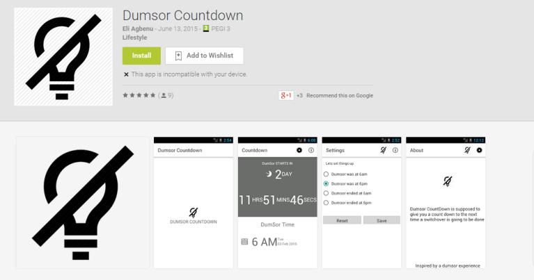 dumsor app ghana