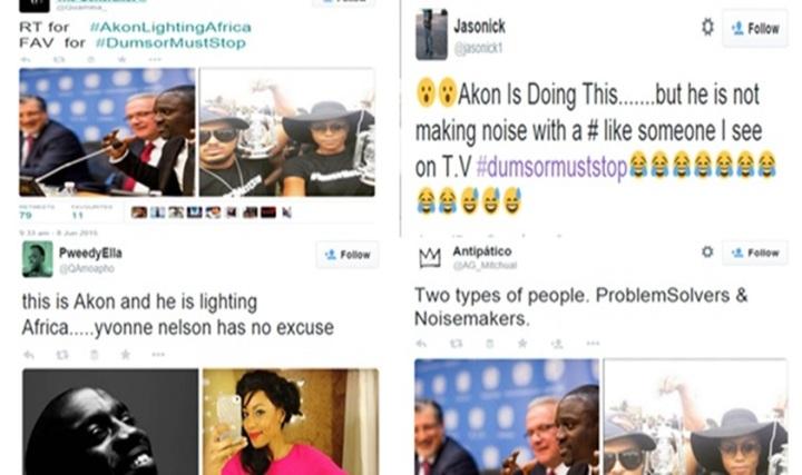 yvonne nelson akonlighting africa dumsor twitter